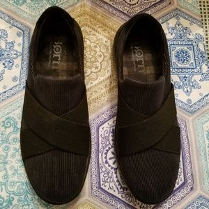 Born Black Slip On Shoes Women